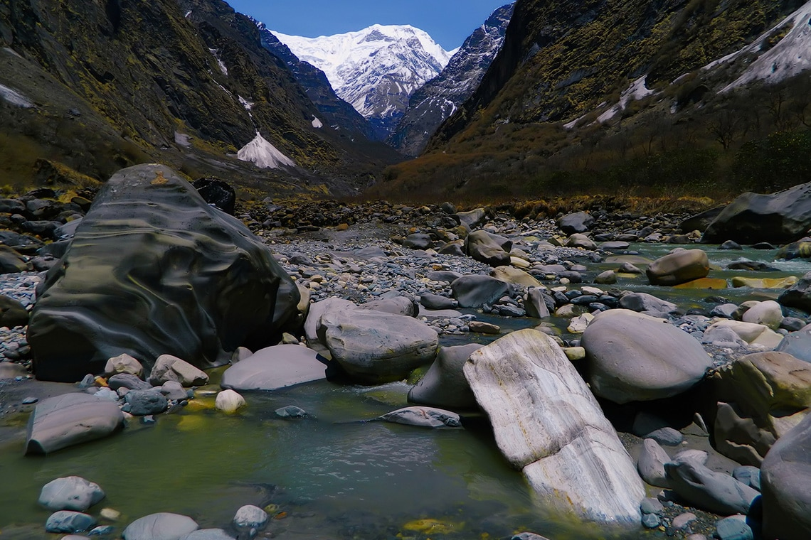 Beautiful-mountain-river-in-Himalayas