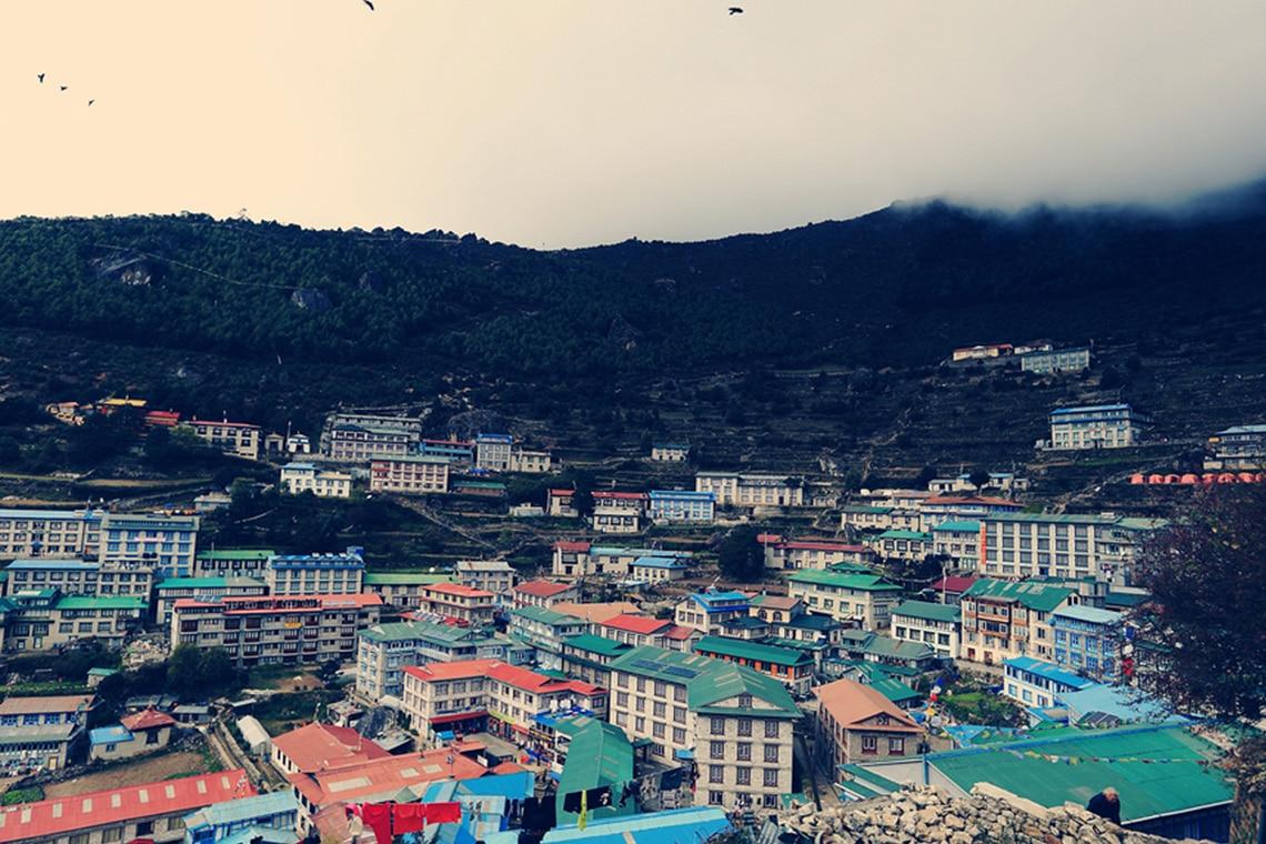 View-of-Namche-bazar